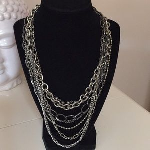 Jewelry - Biker brutalist necklace various chains